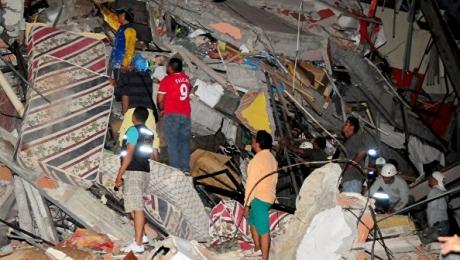 ВЭквадоре произошло новое мощное землетрясение