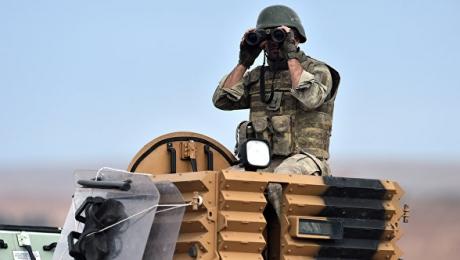 Турецкие ракетные установки подведены кграницам Сирии