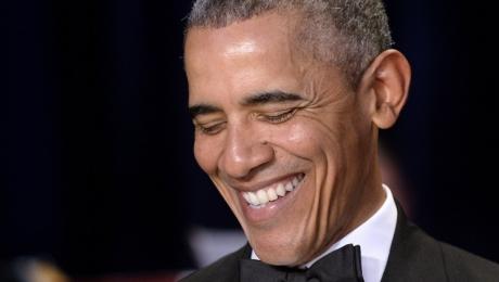 «Кем она будет»: Обама вшутку назвал Хиллари Клинтон следующим президентом США