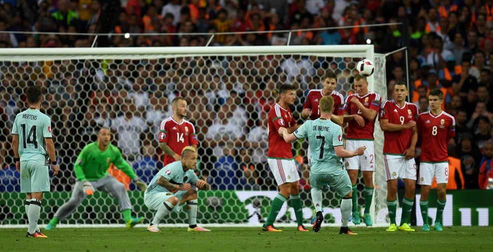 4 гола: Бельгия оставляет Венгрию забортом чемпионата