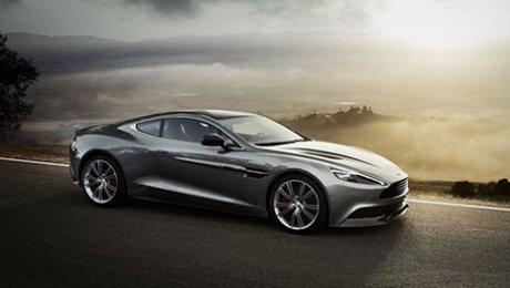 Aston Martin вывел на тесты новый Vantage