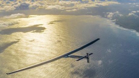 Самолет насолнечных батареях Solar Impulse -2 приземлился вКаире