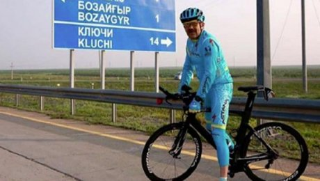 Премьер-Министр Казахстана совершил велопрогулку по трассе Астана-Бурабай