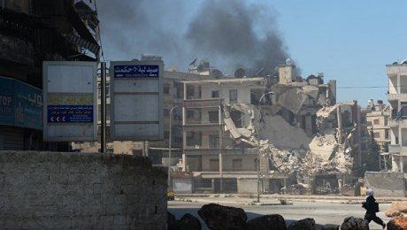 СМИ проинформировали обавиаударе подетской клинике вСирии