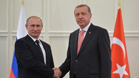 Будящая встреча с В.Путиным— это «новое начало»— Р.Эрдоган