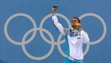 Баландин— 1-ый олимпийский чемпион поплаванию изКазахстана