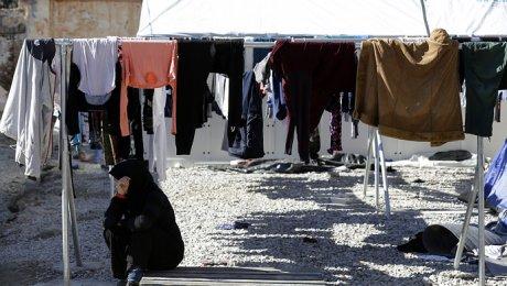 10 человек пострадали в итоге пожара влагере беженцев вГермании