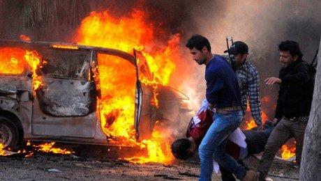 Из-за взрыва натурецко-сирийской границе погибли 35 человек