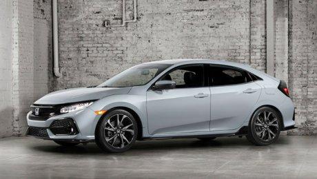 Автомобильные шпионы «поймали» обновленную Хонда Civic Xна английских дорогах