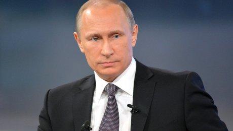 Путин прилетел вКрым