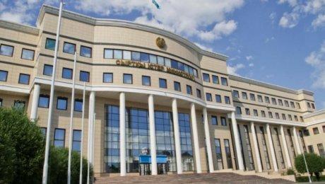 МИДРК: Казахстан осуждает нападение напосольство Китайская республика вБишкеке