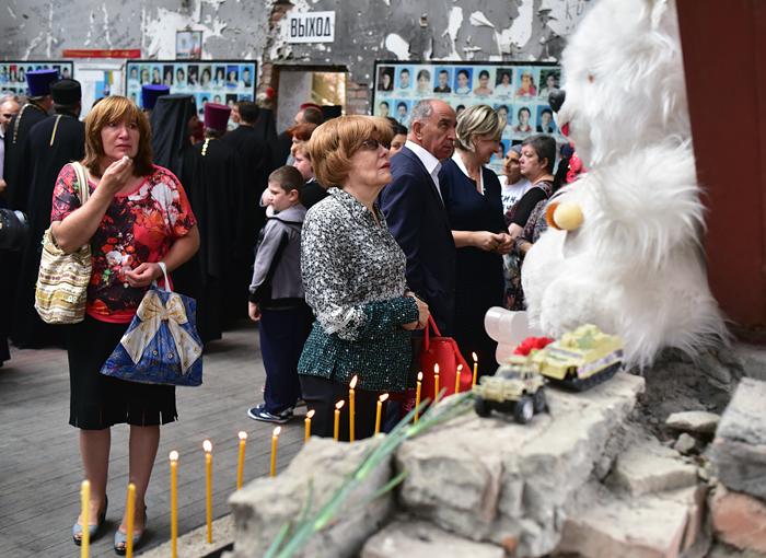 ВБеслане почтили память погибших в 2004