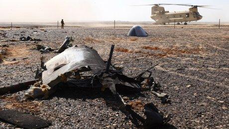 СКР настоял навыкладке фрагментов Airbus А321, разбившегося вЕгипте