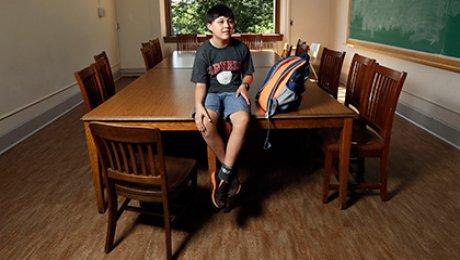 Самым молодым студентом Лиги Плюща стал двенадцатилетний житель америки