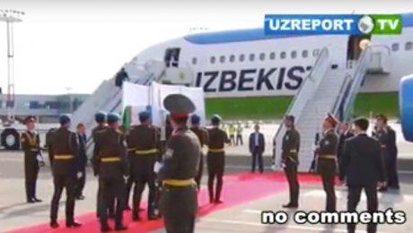 Тело Ислама Каримова отнесли кмогиле наруках