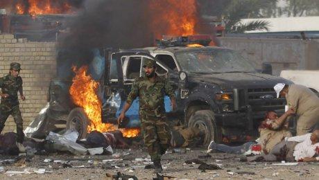 Жертвами взрыва вцентре Багдада стали девять человек, порядка 20 ранены
