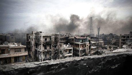 Последний оплот боевиковИГ вАлеппо район Старый город