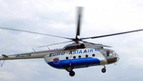 Комиссия приступила к изучению обстоятельств крушения вертолета вКызылординской области