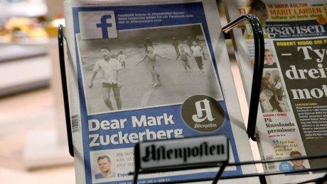 «Фейсбук» вернул всеть фотокарточку «напалмовой девочки»