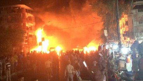 Взрыв произошел уторгового центра вБагдаде, 7 человек погибли