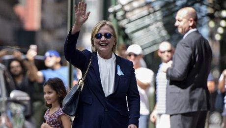 Хиллари Клинтон покинула мероприятие послучаю терактов 11сентября из-за плохого самочувствия