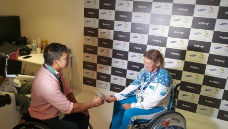 Казахстанская чемпионка Паралимпиады Зульфия Габидуллина угодила втройку наилучших спортсменов