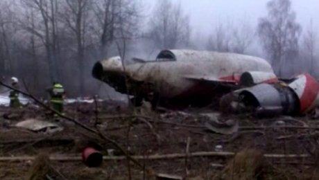 Польские специалисты в 2010-ом году не учили обломки президентского самолета Ту-154М