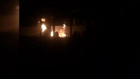 Два жителя Дагестана пострадали впожаре нагазовой АЗС