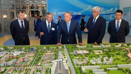 Назарбаев ознакомился с планом развития нового города Нуркент