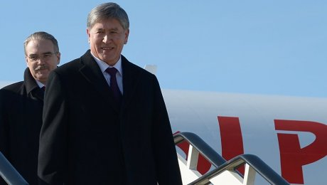 Киргизский лидер продолжит свое лечение в Москве
