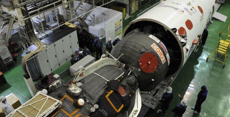 Запуск космического корабля «Союз» перенесли на19октября
