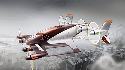 Airbus представил проект летающего такси