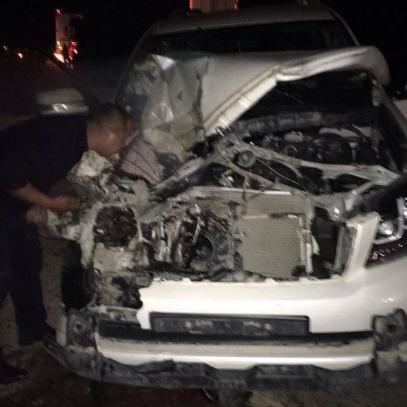 Кайрат Нуртас едва не умер вавтокатастрофе