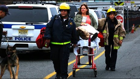Вамериканском Нью-Джерси отутечки газа взорвался дом
