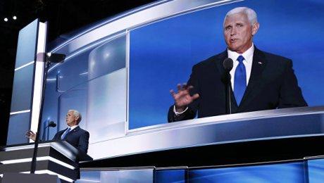 Претенденты ввице-президенты США выступили скритикой позиции Российской Федерации