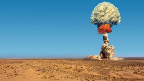 США испытали модернизированные атомные бомбы без боезаряда