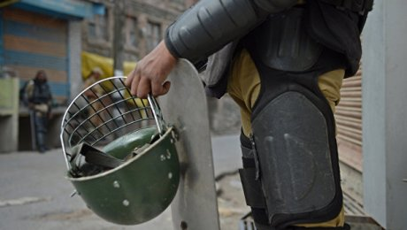 Боевики напали на сооружение института вКашмире