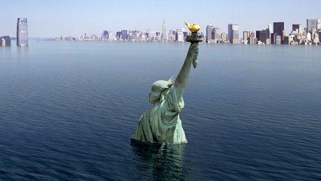 Ученые предсказали критические наводнения вНью-Йорке вближайшие сто лет