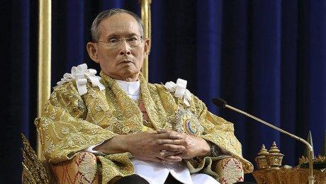 Скончался король Таиланда— самый долгоправящий монарх вмире