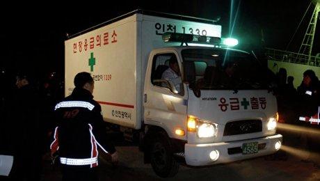 Десять человек сгорели вавтобусе вЮжной Корее