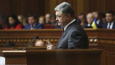 Порошенко: Украина находится всостоянии войны