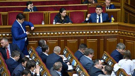 Украина первой отменила санкции против РФ