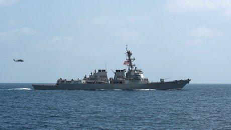 США: Американский эсминец в 3-й раз атакован стерритории Йемена