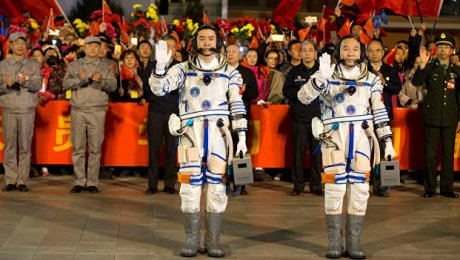 КНР запустил вкосмос пилотируемый корабль «Шэньчжоу-11»