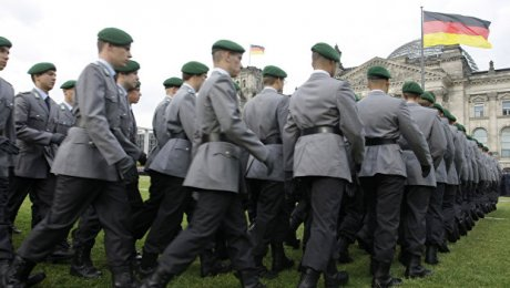 Германия желает больше полномочий ввоенной сфере