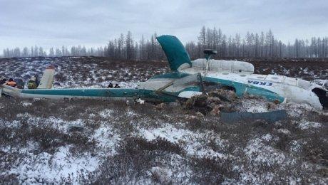 Крушение вертолета Ми-8 наЯмале