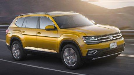 В КНР представлен «близнец» нового кроссовера VW Atlas