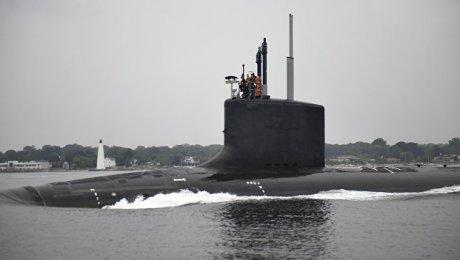 США: навооружение принята новая подводная лодка «Иллинойс»