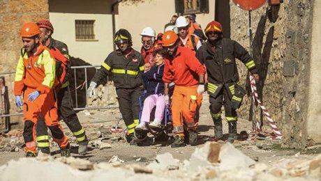 Землетрясясение вИталии: зафиксировано 700 толчков