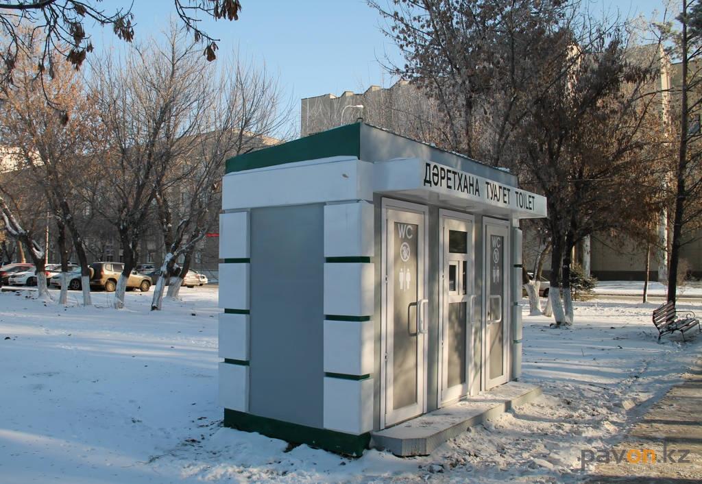 ВПавлодаре установили публичный туалет стоимостью 5 млн тенге